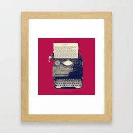 Novels Framed Art Print