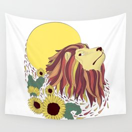 Roar at the stars Wall Tapestry