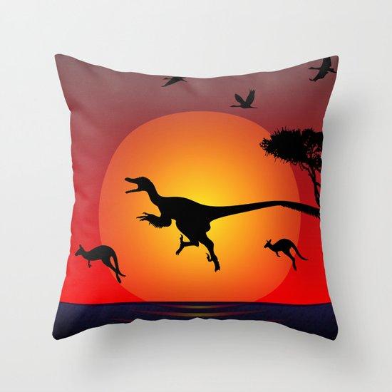 Mimicry Throw Pillow