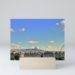 Parisian Skyline Mini Art Print