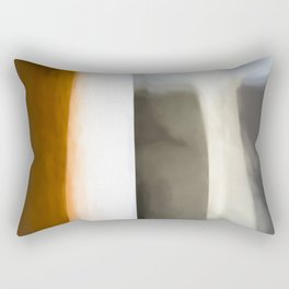 Abstract Lines. Like Painted on Canvas. Rectangular Pillow