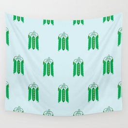 Vegetable: Snap pea Wall Tapestry