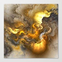 Unreal Stormy Heaven Canvas Print