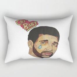 Sad Champagne Papi Rectangular Pillow