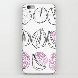 Nut's n brains iPhone Skin