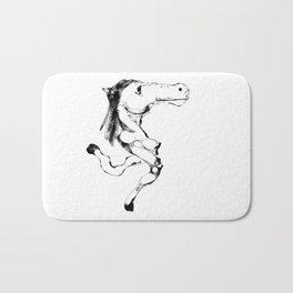 Slumokra the two legged Horse Bath Mat