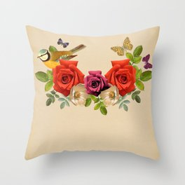 Song Bird 6 Throw Pillow