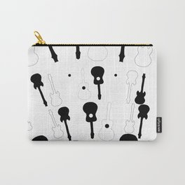 Guitar Pattern Carry-All Pouch
