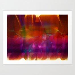 """Intersection"" Art Print"
