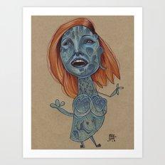 MYSTIQUE MAMBO Art Print