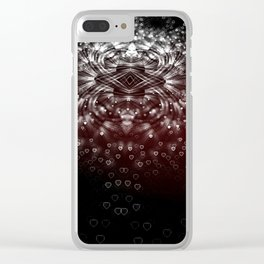 Unconscious Rivals Clear iPhone Case