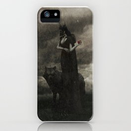 By the Pricking of Her Thumbs iPhone Case