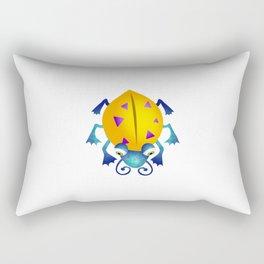Yellow Bug Rectangular Pillow