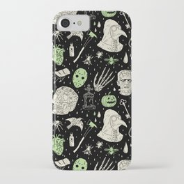 Whole Lot More Horror: BLK Ed. iPhone Case