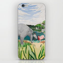 BORN ON THE WETLANDS iPhone Skin
