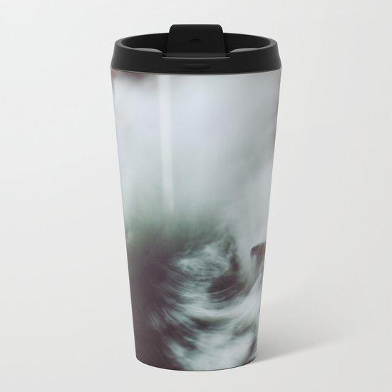 Guadalupe Wave Metal Travel Mug