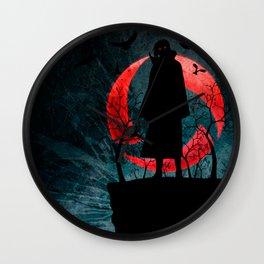 Ninja Crows Wall Clock