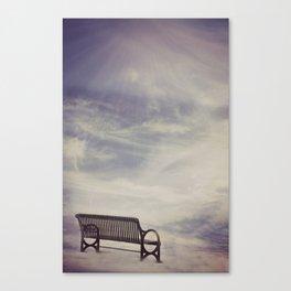 Ω Waiting Room Ω  Canvas Print