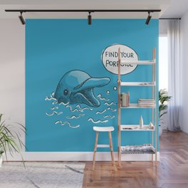 Find Your Porpoise Wall Mural