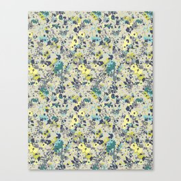painted floral Canvas Print