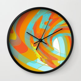 Along for the Ride Wall Clock