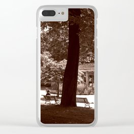 Parc Monceau Clear iPhone Case