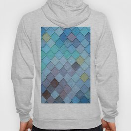 Blue Tiles (Color) Hoody