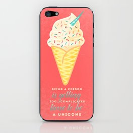 Unicone iPhone Skin