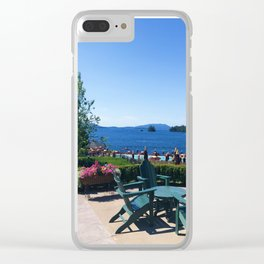 The Sagamore at Lake George - view 5 Clear iPhone Case