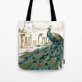 Peacock Jewels Tote Bag