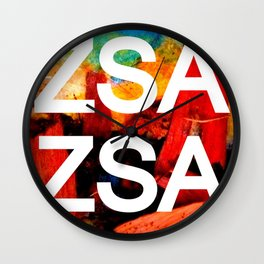 Zsa Zsa (for Craig) Wall Clock