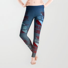 Wild girls go scuba diving Leggings