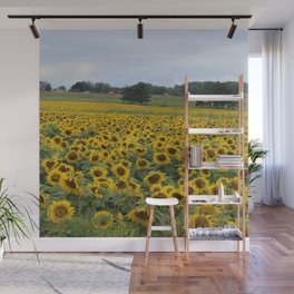 Field of a Million Sunfowers I Wall Mural