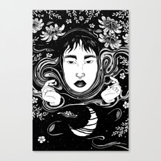 Reflecting The Moon Canvas Print