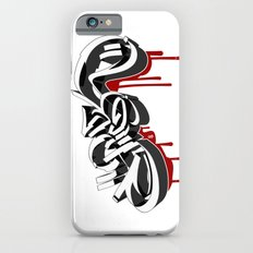 3D GRAFFITI - FUCK iPhone 6s Slim Case