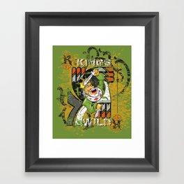 KINGS Framed Art Print