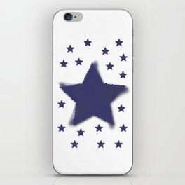 Blue Star Challenger iPhone Skin