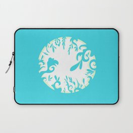 Abstractly Blue  Laptop Sleeve