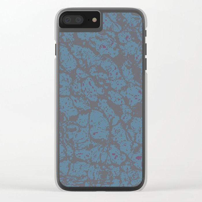 Mess 12 Clear iPhone Case