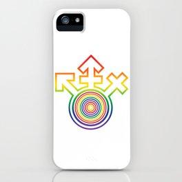 Universal Gay Pride LGBT Symbol iPhone Case