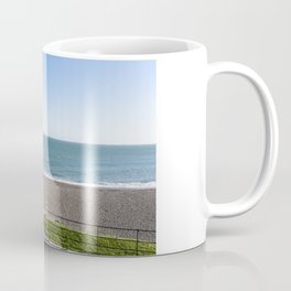 Greystones beach in Ireland Coffee Mug
