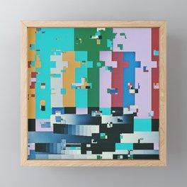 FFFFFFFFFFFFF Framed Mini Art Print
