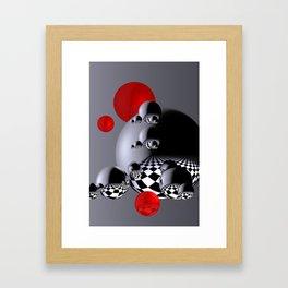 go red -4- Framed Art Print