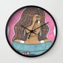 Ruby Cosma Wall Clock