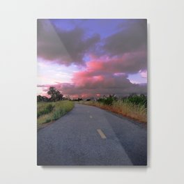 The Road to Nowhere Metal Print