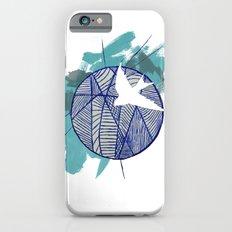 Blue Doodle Slim Case iPhone 6s