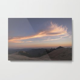 Light and airy clouds Metal Print