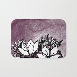 Flower Tangle Bath Mat