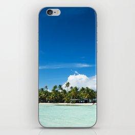 Uninhabited or desert island in the Pacific iPhone Skin