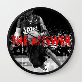 Allen Iverson- The Answer Wall Clock
